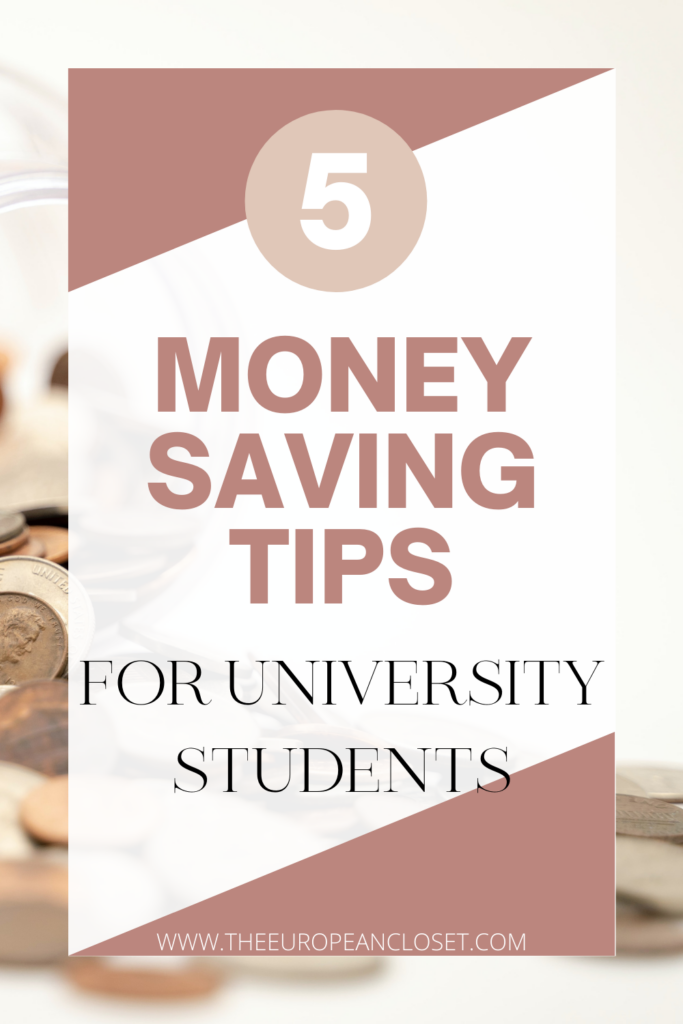 Today I'll show you 5 simple and easy to implement tips for you to save that extra money instead of spending it mindlessly.
