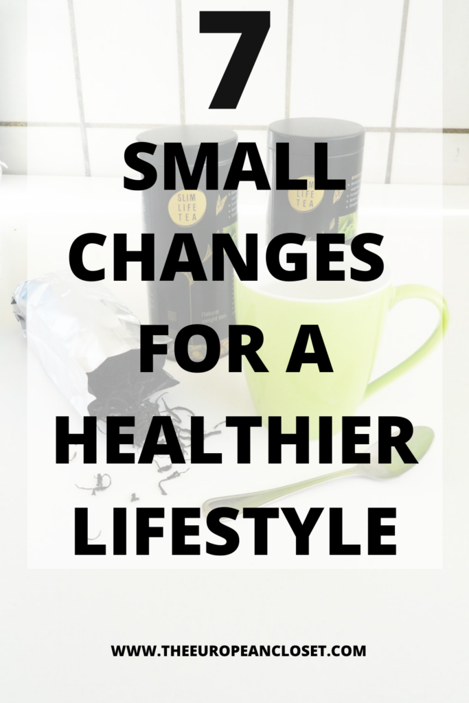 I think we've all thought 'I need to lead a healthier lifestyle' before right? Here are 7 small changes for a healthier lifestyle