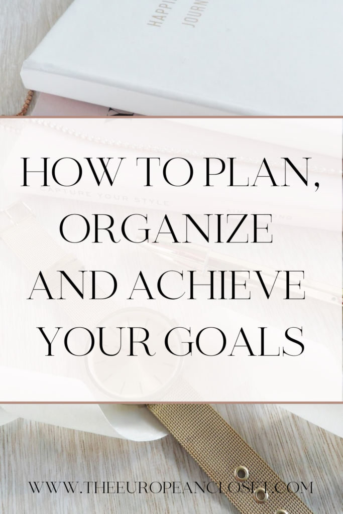 To achieve your goals there are two main things you need to do : planning and action. Today, I'll show you steps to achieve your goals.