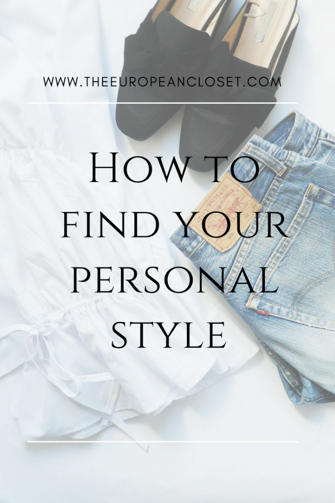 Finding your personal style is all about combining already existing styles you like and make them your own.Here's how you can do so.