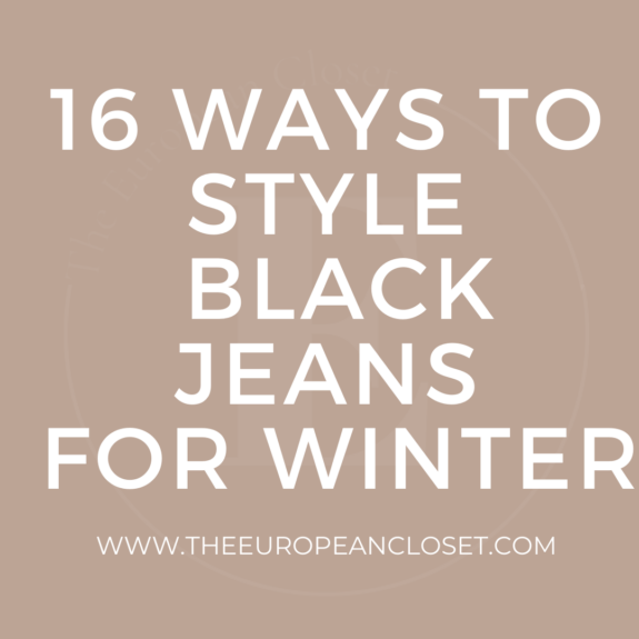 Black jeans are a staple in anyone's wardrobe due to their versatility. Today, I'll be sharing with you 16 ways to style black jeans.