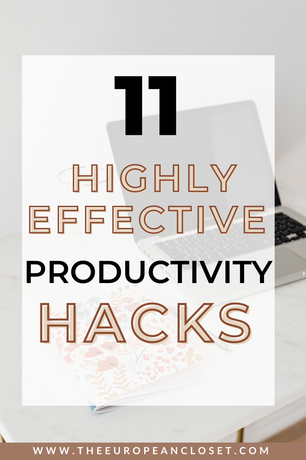 Today I've compileda list of simple things you can do on your daily life to make sure you can be as productive as possible.