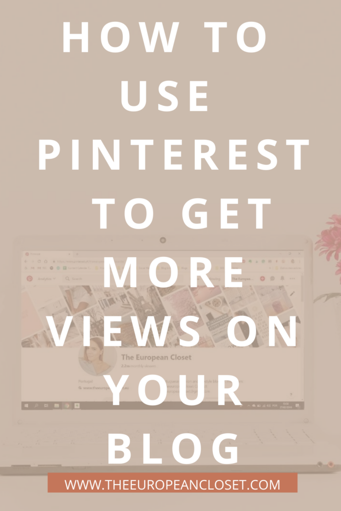 Pinterest is my favorite social media platform. It is also the social media platform that brings the most traffic to my blog. On average, I have 9000 people viewing my Pinterest profile daily, which results on a whole bunch of new readers every week.