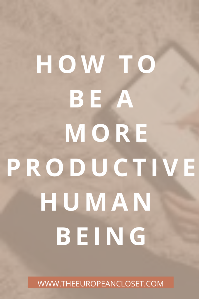 If you want to know how to avoid procrastination and be a more productive human being, here are 8 tips to do so.