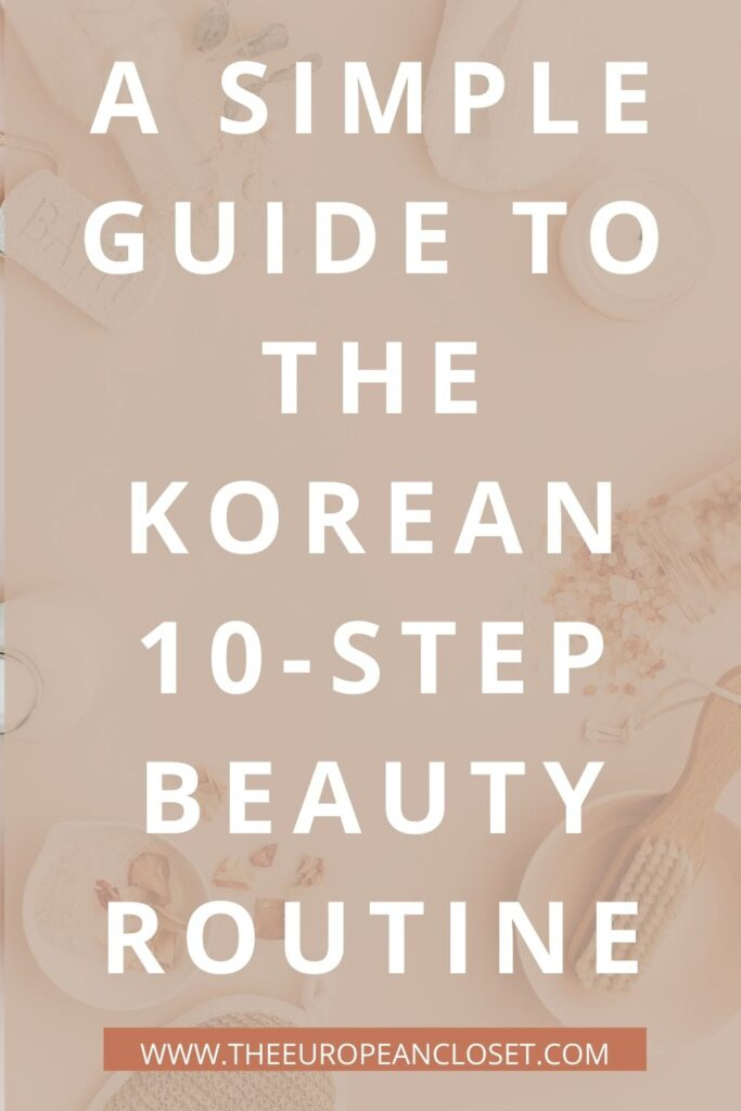 Korean skincare is all the rage right now, especially their infamous 10-step skincare routine. Here's a guide of the Korean 10-step routine.