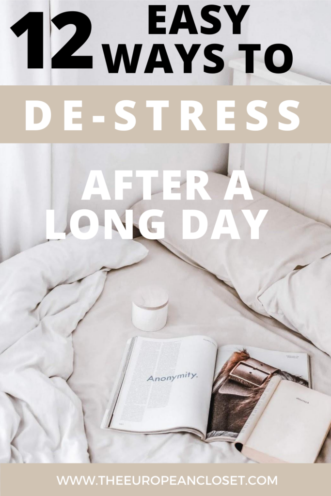 On some days, stress hits you so hard that it becomes extremely difficult to do anything of any sort. When those days take place, the best thing you can do is trying to relax while doing something you enjoy. Here are 12 easy things you can do to de-stress after a long day/ week.