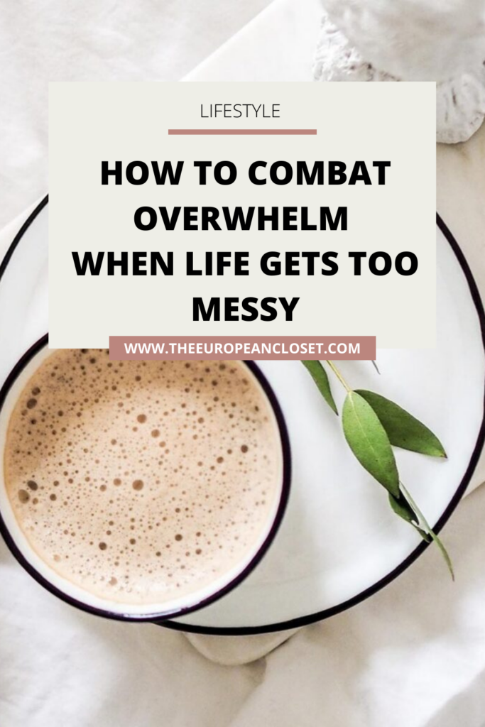 The best thing you can do when feeling overwhelmed it to bounce back, not give up. Bouncing back is better than not doing anything altogether. Today I'm going to show you how you can tackle your feeling of overwhelm and get back on track with your life.