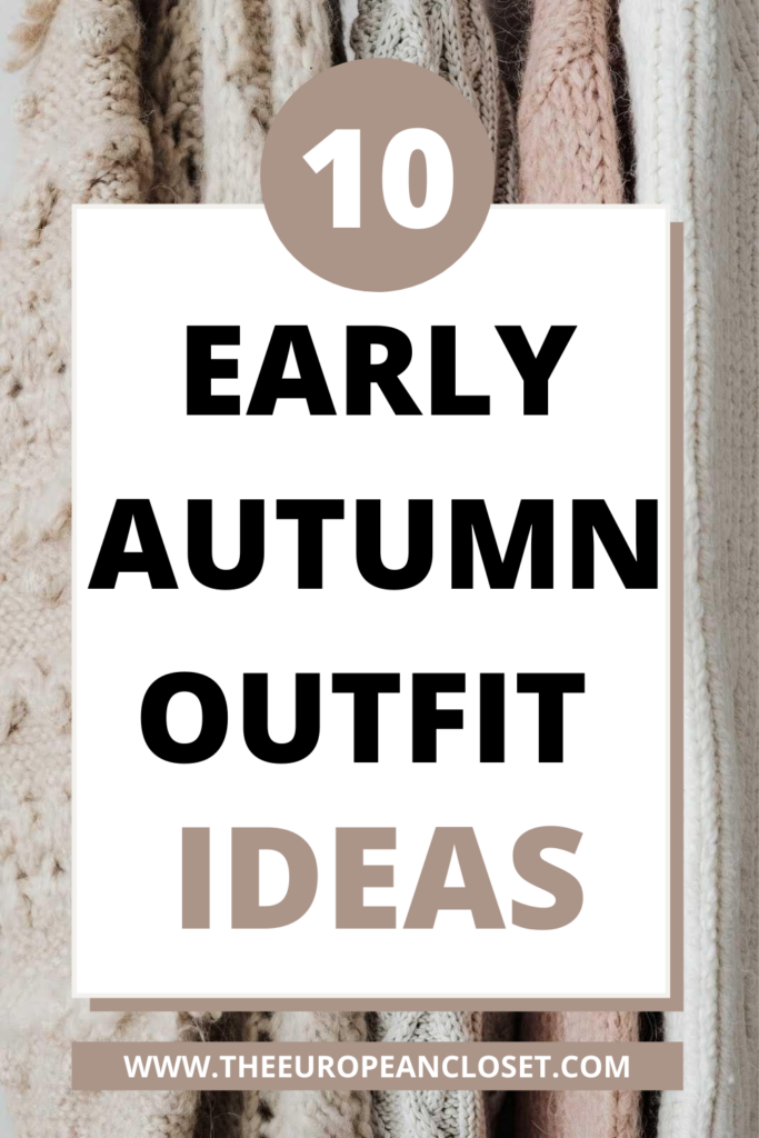 Although Autumn is close, that doesn't exactly mean we'll going to be wearing scarves and fluffy coats right away so I thought I'd show you a 10 ways you can dress for the early-fall weather.