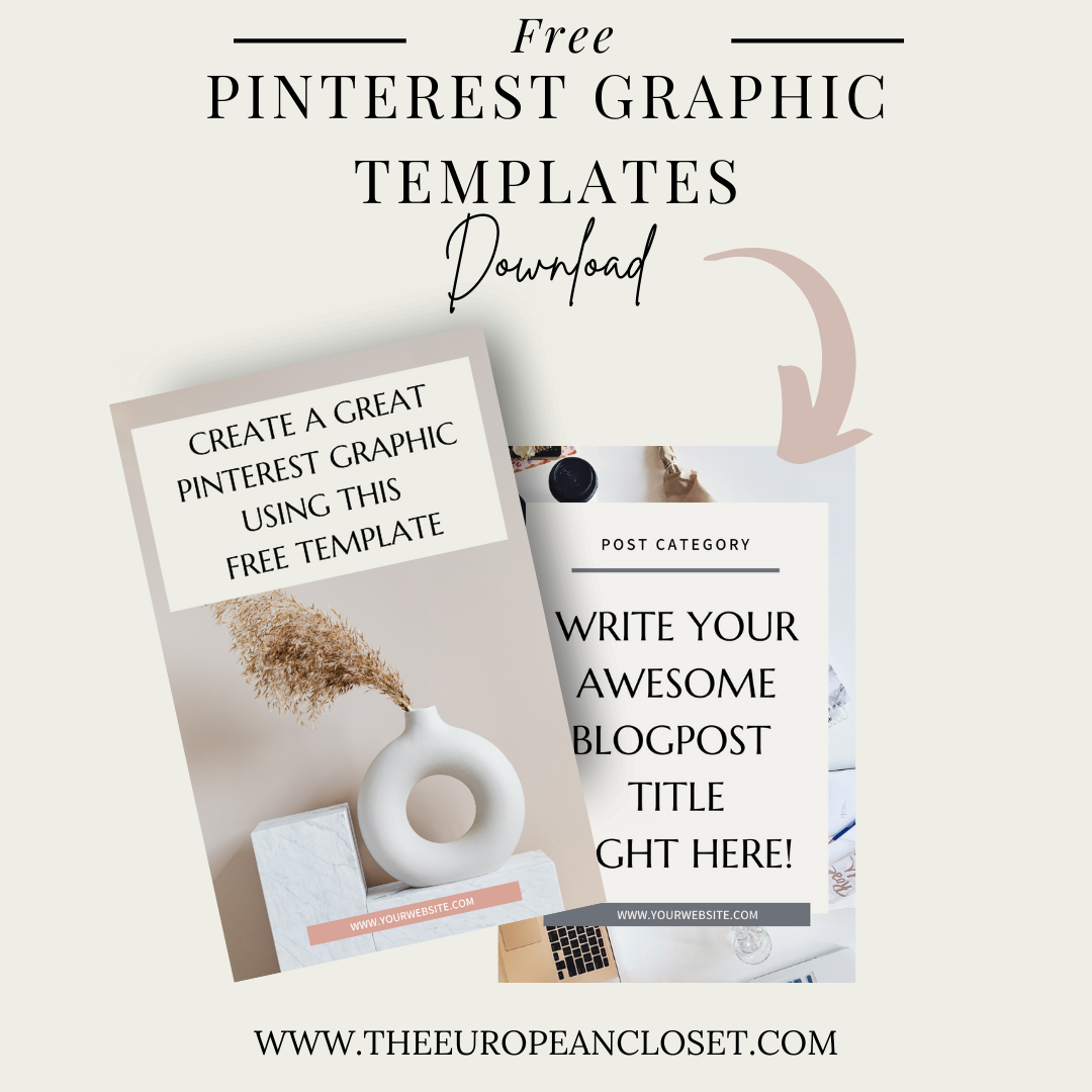 Take a look at how you can create gorgeous pinterest graphics that will generate tons of clicks and download our five free templates.