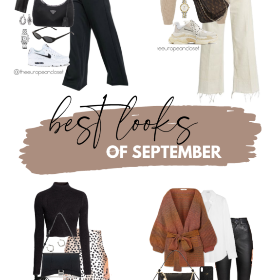 Take a look at the best looks of September from The European Closet Virtual Styling Instagram page. This month was all about Autumn looks.
