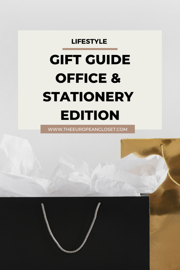 If you have a family member or a friend who is absolutely obsessed with stationery and office supplies, this is the gift guide for you.