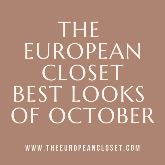 The best looks of October are here! This past month was filled with autumn outfit ideas for each day of the month.