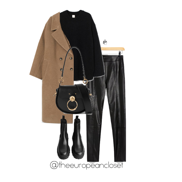 Outfit using chunky boots- The European Closet by Rita Valente
