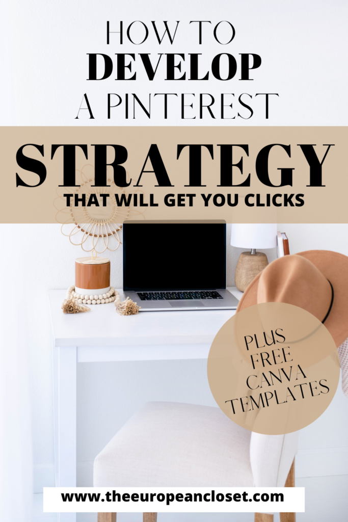 If you're not on Pinterest, you are truly missing out! Today's post is about how to develop a Pinterest strategy that'll bring you clicks.