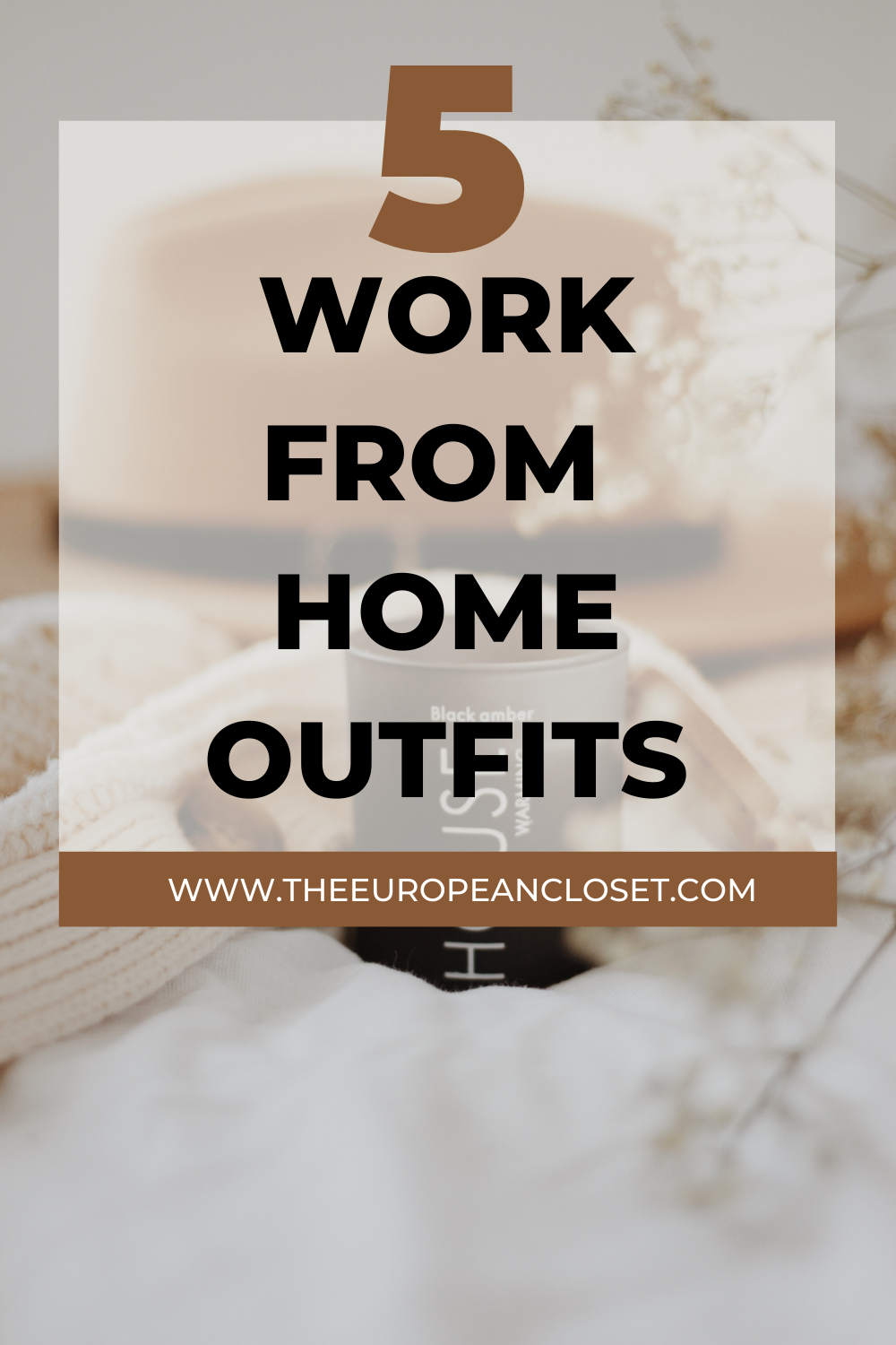 When it comes to outfits to wear while working from home, the key is to make the outfits comfortable. Here are 5 work from home outfits.