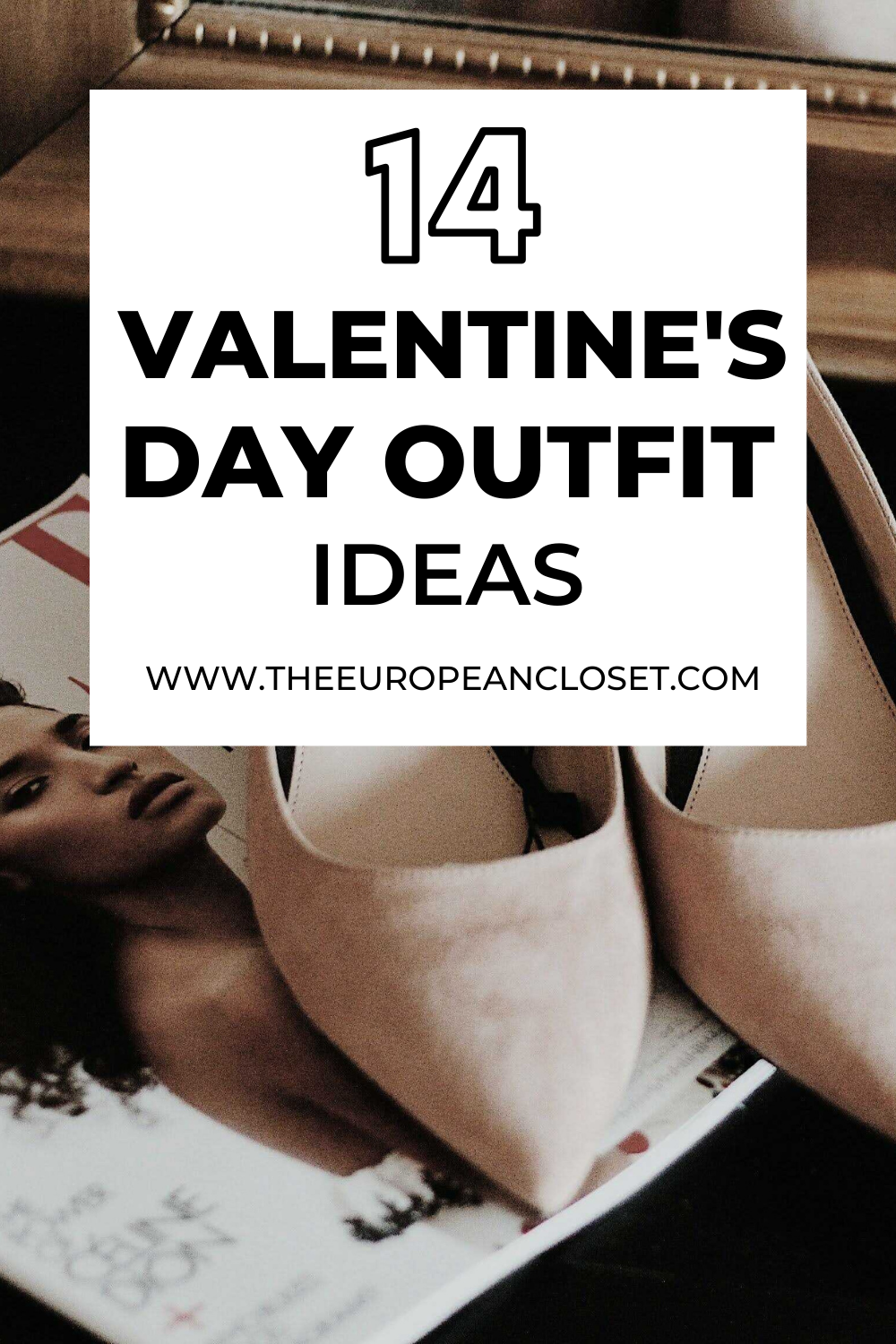 Today's post is all about valentine's day outfit ideas. I'll be sharing 14 looks (see the reference?) that can be worn anywhere you might go.