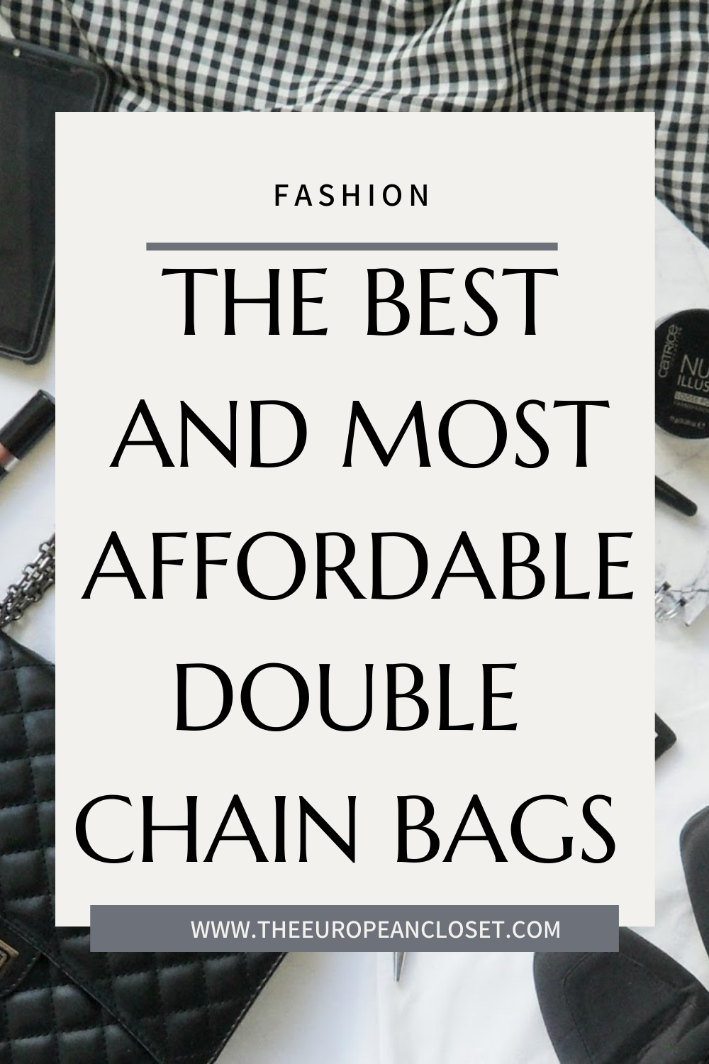Double chain bags are one of the biggest bag trends this season. Here are the best and most affordable double chain bags!