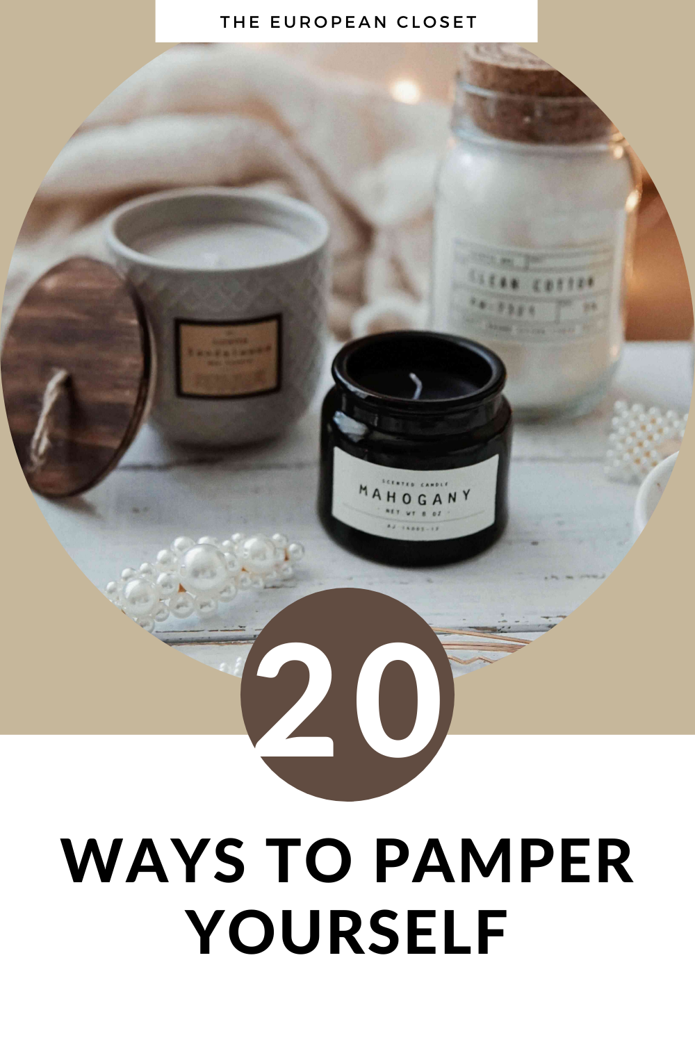 In this day and age, we are stressed-out pretty much 24/7. In today's post we'll take a look at a list of 20 ways to pamper yourself.