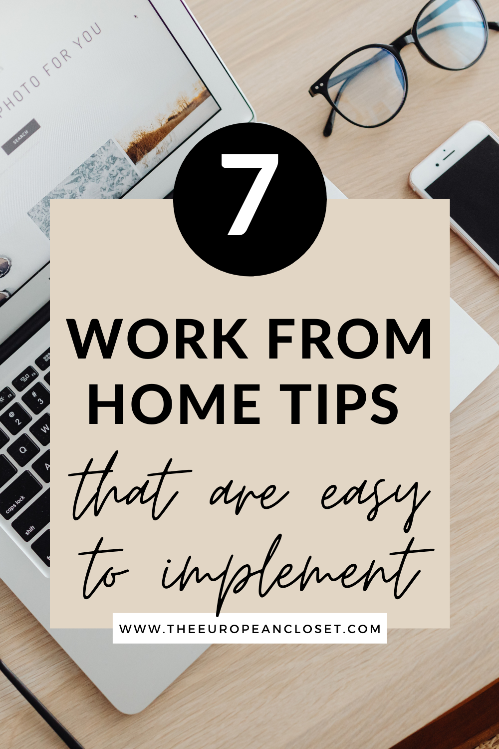 Here are my top 7 tips on how to work from home productively. Follow them and you'll be a productivity machine in no time.