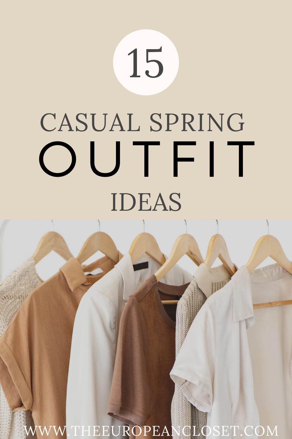 Looking for casual spring outfit ideas? Look no further! Today I've gathered 15 (that's right, fifteen) amazing outfits you can wear today!