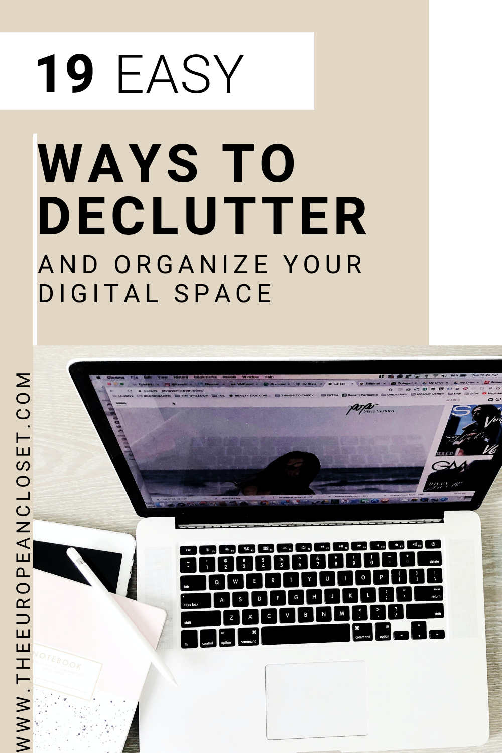 Living in a digital era, it's imperative that we clean our digital space as often as we do our physical one. Today's post is all about that.