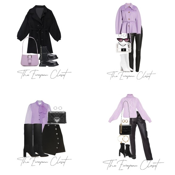 Want to add color to your autumn / winter wardrobe? Why not try lilac? Today I'm sharing how to style lilac items for the colder seasons.