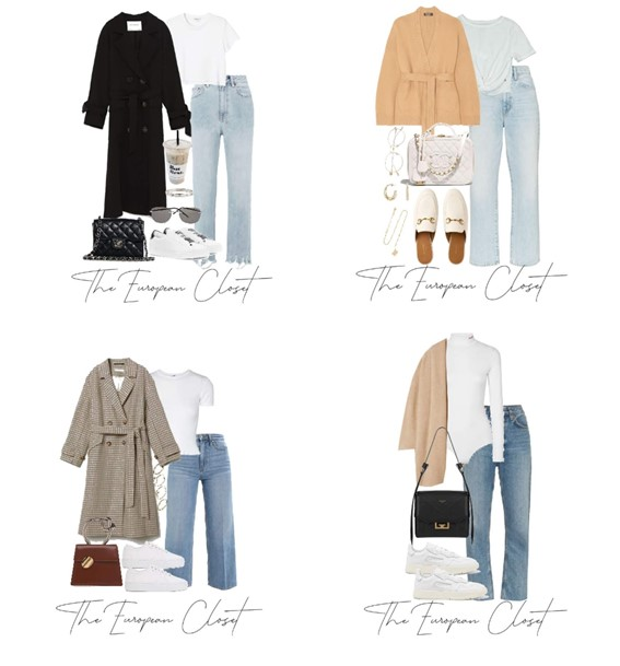 Transitional outfits are hard to pull off. They're either too hot or too cold. Here are 12 easy transitional outfits anyone can recreate.