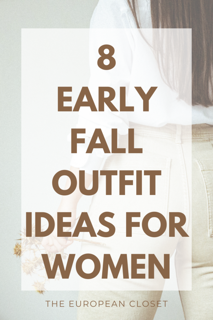 Fall is right around the corner and you don't know what to wear? Don't worry, I got you. Today I'm sharing with you 8 casual fall outfits.