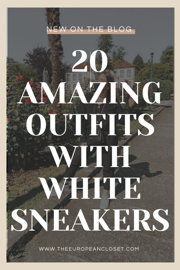 Looking for cute outfits with white sneakers? This post is all about how to wear white sneakers using the best women's white sneakers.