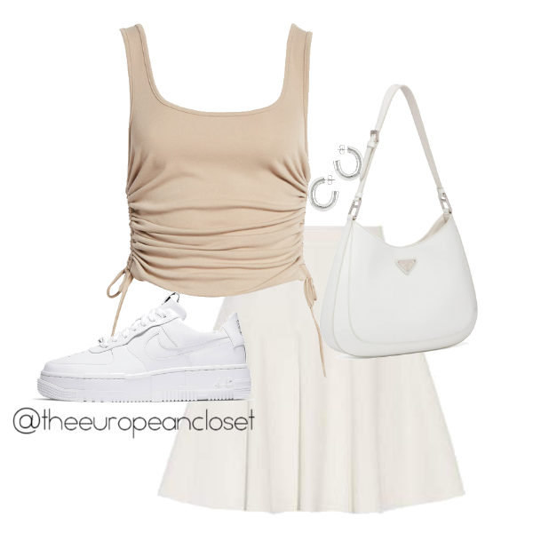 sneakers with skirts