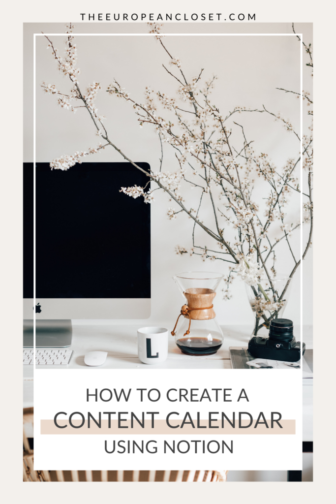 In this step-by-step article, you'll learn how to create a content calendar in Notion as well as a few beginner tips for using Notion.